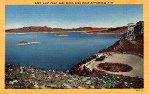 Arizona Lake Mead Lake View Point Curteich