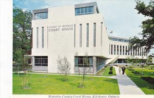 Canada Waterloo County Court House Kitchener Ontario