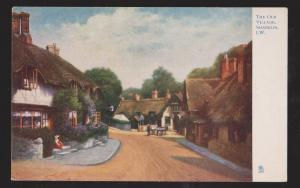 The Old Village By I. W. Shanklin - Unused