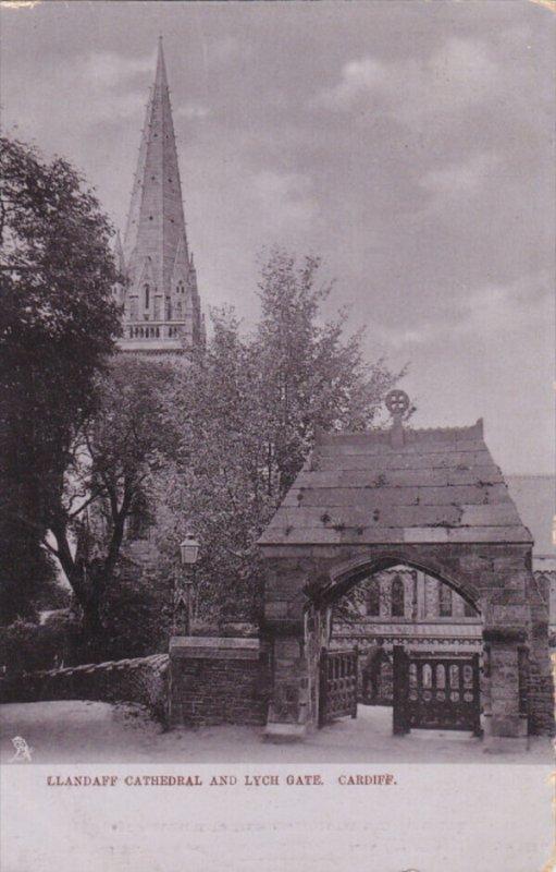 CARDIFF, Glamorgan, Wales, United Kingdom, PU-1905; Llandaff Cathedral And Ly...