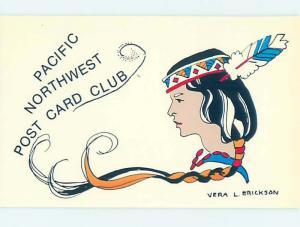 1983 PACIFIC NORTHWEST POSTCARD CLUB Seattle Washington WA H9458