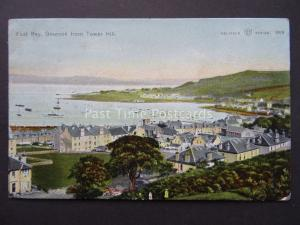 Scotland GOUROCK East Bay from Tower Hill c1903 Postcard by W.R.& S.