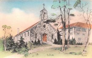 Chapel of Mary Immaculate Monroe, New York Postcard