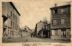CPA Fontaine-sur-SAONE - Grande Rue (367829)