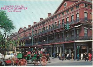 Louisiana New Orleans Greetings From The French Quarter