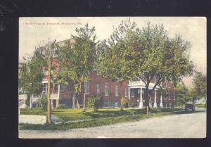MARYVILLE MISSOURI SAINT FRANCIS HOSPITAL ANTIQUE VINTAGE POSTCARD MO