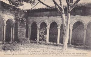 Saint-Émilion , France , 00-10s ; Cloitre de l'Eglise Collegiale