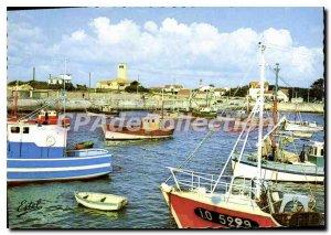 Postcard Modern Ile D'Oleron Port De La Cotiniere