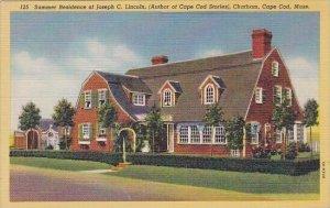 Summer Residence Of Joseph C Lincoln Chatham Cape Cad Massachusetts