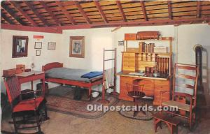 Old Vintage Shaker Post Card Brother's Bedroom,  Museum Old Chatham, New...