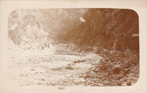 Philippines River Scene Real Photo