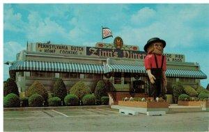 Postcard - Zinn's Modern Diner, U.S. Route 222 - Denver, Pennsylvania