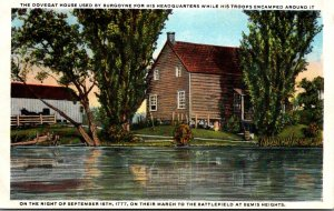 New York Bemis Heights Dovegat House Used By Burgoyne For His Headquarters Cu...