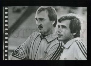 208187 USSR Dynamo Kiev football team Viktor Chanov old card