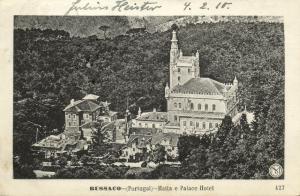 portugal, BUSSACO BUÇACO, Matta e Palace Hotel (1910)