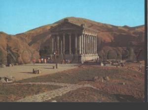 113185 ARMENIA Garni Pagan Temple OLD POSTAL stationery