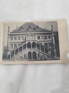Antique Postcard entitled Rathaus mit Kirche, Bern