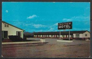Arizona, Wickenburg - Crestview Motel - [AZ-310]