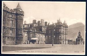 Holyrood Palace Main Entrance Edinburgh unused c1930's