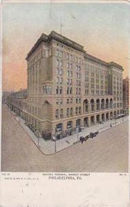 Pennsylvania Philadelphia Reading Terminal Market Street 1909