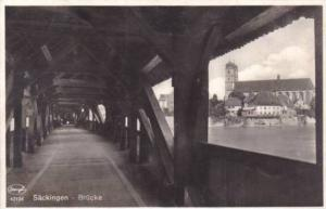 RP, Brucke, Sackingen, Germany, 1920-1940s