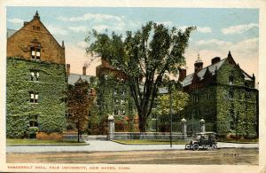 CT - New Haven - Yale University. Vanderbilt Hall