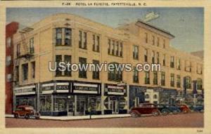 Hotel La Fayette Fayetteville NC 1940