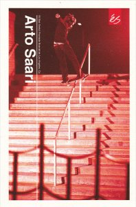 Arto Saari 16 Stair Switch Frontside Boardslide Los Angeles California