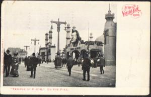 St Louis Worlds Fair 1904  Temple of Mirth  On the Pike