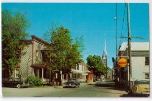 Ste-Marie Beauce Que, La rue Principale Canada / Shell Gas