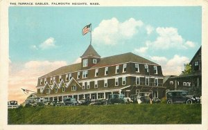 MA, Falmouth Heights, Massachusetts, The Terrace Gables, Tichnor 113886