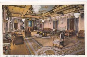 Utah Salt Lake City Governor's Reception Room Utah State Capitol Curteich