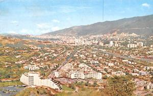 Venezuela Old Vintage Antique Post Card Caracas Las Mercedes 1962 Missing Stamp