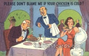 Comic Comical Postcard Post Card Old Vintage Antique Greetings from Kenoza La...