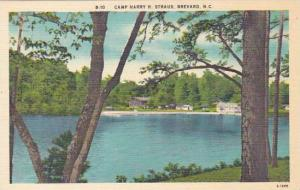 North Carolina Brevard Camp Harry H Straus Albertype