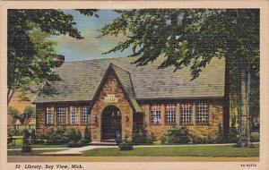 Library, Bay View, Michigan, 30-40s