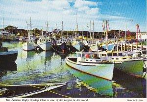 Canada Famous Digby Scallop Fleet Nova Scotia