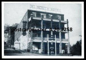 2258 - ROCK ISLAND Quebec Postcard 1950s Del Monty Hotel