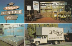 North Dakota Minot Tollefson's Furniture Store sk4575