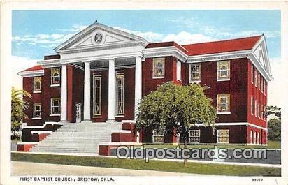 First Baptist Church Bristow, Oklahoma, USA Unused