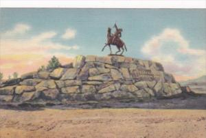 Wyoming Cody Buffalo Bill Monument Curteich