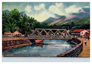 16911  Honolulu  waterway in the Suburbs