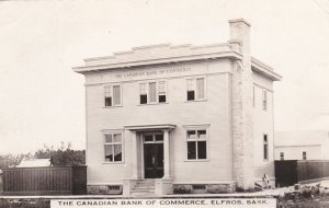 RP: ELFROS , Saskatchewan , Canada , 1900-10s ; Canadian Bank of Commerce