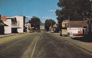TEN SLEEP , Wyoming , 50-60s ; Main Street