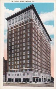 Le Claire Hotel Moline Illinois