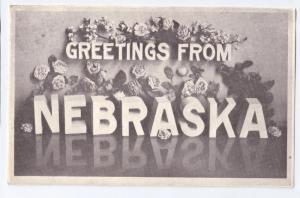 Greetings from Nebraska 1985 Large Letter