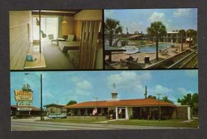 SC Howard Johnson's Lodge Motel Restaurant CHARLESTON South Carolina Postcard