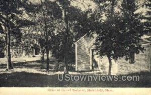 Office of Daniel Webster Marshfield MA Unused