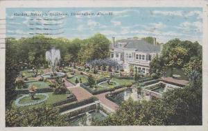 Alabama Biemingham Garden Masseys Residence
