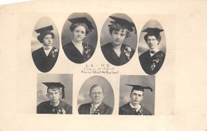 LS - HS, Class of 1910 - 1911 Photo of People Unused